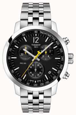 Tissot PRC 200 | Chronograph | Black Dial | Stainless Steel T1144171105700