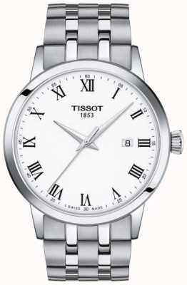 Tissot Classic Dream | White Dial | Stainless Steel Bracelet T1294101101300