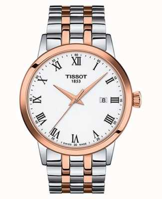 Tissot Classic Dream | White Dial | Two Tone Stainless Steel T1294102201300