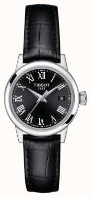 Tissot Womens | Classic Dream | Black Dial | Black Leather Strap T1292101605300