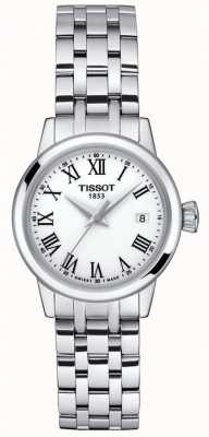 Tissot Womens | Classic Dream | White Dial | Stainless Steel T1292101101300