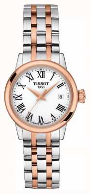 Tissot Womens | Classic Dream | White Dial | Two Tone Stainless T1292102201300