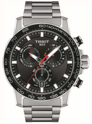 Tissot Supersport Chrono | Black Dial | Stainless Steel Bracelet T1256171105100