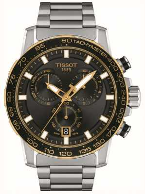 Tissot Supersport Chrono | Black Dial | Stainless Steel Bracelet T1256172105100
