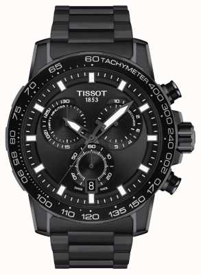 Tissot Supersport Chrono | Black Dial | Black PVD Steel Bracelet T1256173305100