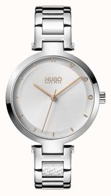 HUGO Ladies #HOPE Casual | Silver Dial | Stainless Steel Bracelet 1540076