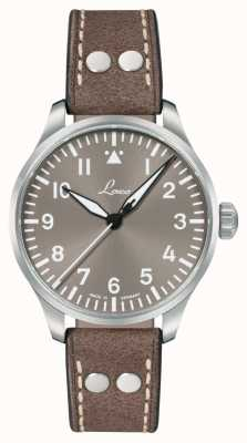 Laco Augsburg Taupe 39 | Limited Edition | Taupe Leather Strap 862125