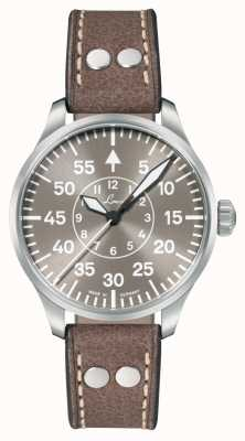 Laco Aachen Taupe 39 | Limited Edition | Taupe Leather Strap 862126