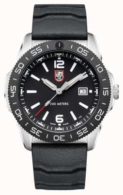 Luminox Men's Pacific Diver | Black Dial | Black Rubber Strap XS.3121