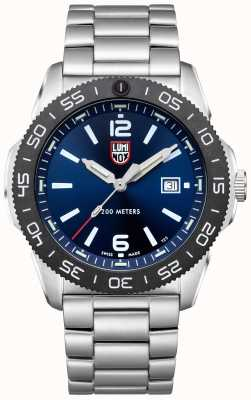 Luminox Men's Pacific Diver | Blue Dial | Stainless Steel Bracelet XS.3123