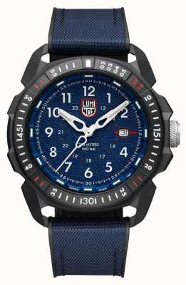 Luminox Men's ICE-SAR Arctic | Blue Dial | Blue Textile Rubber Strap XL.1003.ICE