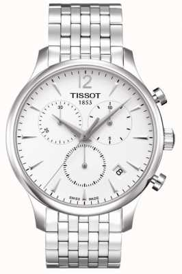 Tissot Tradition | Chronograph | White Dial | Stainless Steel T0636171103700