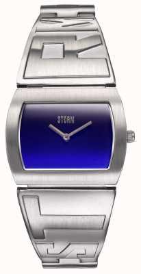 STORM Women's XIS Lazer Blue | Stainless Steel Bracelet | 47472/B