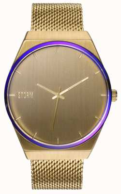 STORM Cirero Gold | Gold Mesh Strap | Gold Dial 47477/GD