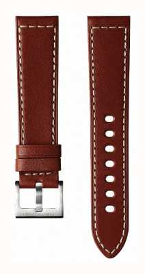 Hamilton Brown Cow Leather 20mm - Khaki Field Strap Only H600704104