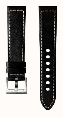 Hamilton Black Cow Leather 20mm - Khaki Field Strap Only H600704110