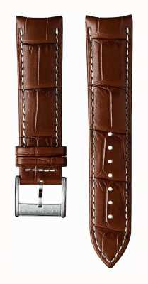 Hamilton Light Brown Calf Leather 22mm Strap Only - Jazzmaster H600326101