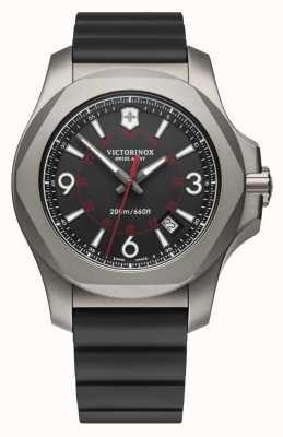 Victorinox Swiss Army I.N.O.X. Titanium Black Dial | Black Rubber Strap 241883