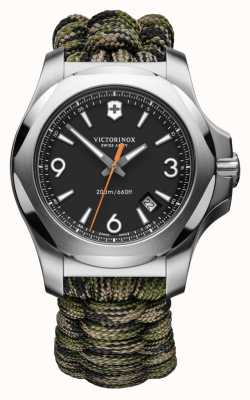 Victorinox Swiss Army I.N.O.X. | Autumn Spirit | Black Dial | Green Paracord Strap 241894
