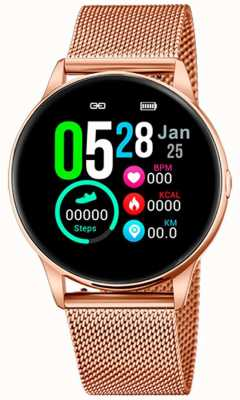 Lotus SmarTime | Women's | Rose Gold Mesh + Free Strap 50001/1