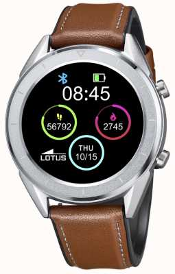 Lotus SmarTime | Men's | Brown Leather Strap + Free Strap L50008/1