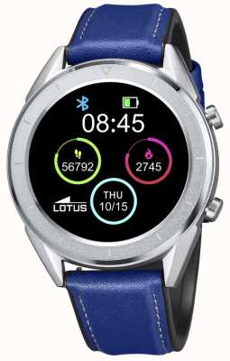 Lotus Men's | Smartime | Blue Leather Strap + Free Strap 50008/2