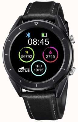 Lotus SmarTime | Men's | Black Leather Strap + Free Strap 50009/1