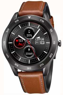 Lotus SmarTime | Men's | Brown Leather Strap + Free Strap L50012/1