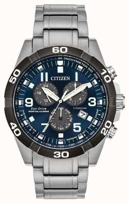 Citizen Brycen Super Titanium Perpetual Calendar Watch BL5558-58L