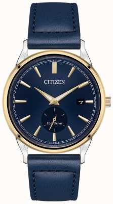 Citizen Eco-Drive Blue Leather Blue Dial Watch BV1114-18L
