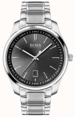BOSS Circuit Sport Lux | Stainless Steel Bracelet | Black Dial 1513730