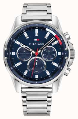 Tommy Hilfiger Men's Mason | Stainless Steel Silver Bracelet | Ex Display 1791788EX-DISPLAY