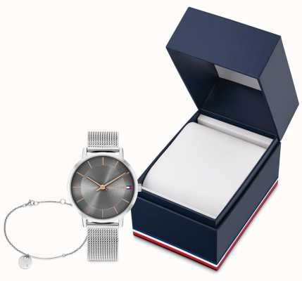 Tommy Hilfiger Women's Pippa Gift Set | Watch And Disc Bracelet 2770092