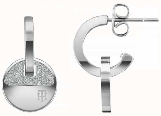 Tommy Hilfiger Women's Dressed Up | Stainless Steel Circle Earrings 2780459