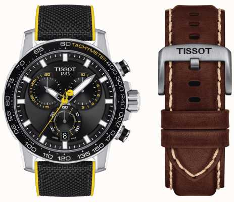 Tissot Tour De France 2020 Supersport Chrono + Brown Strap T1256171705100