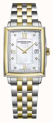 Raymond Weil Women's Toccata | Two-Tone Steel Bracelet | Diamond Set Dial 5925-STP-00995