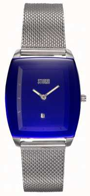STORM Mini Zaire Lazer Blue | Steel Mesh Bracelet | Blue Dial 47474/B