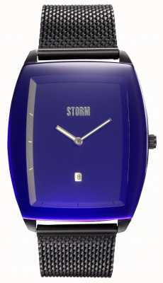 STORM Zaire Slate Lazer Blue | Steel Mesh Bracelet | Blue Dial 47478/SL/B