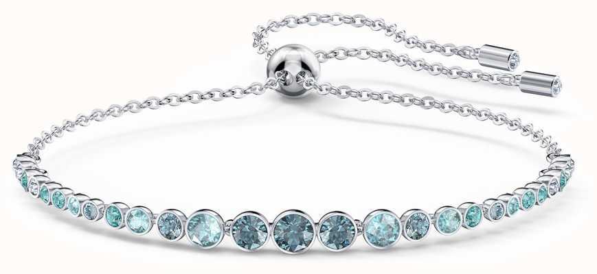 Swarovski Emily | Rhodium Plated | Gradient Bracelet | Blue 5562130