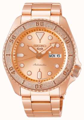 Seiko Rose-Gold | Mens | Automatic | Sports | Bracelet SRPE72K1