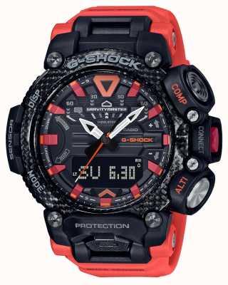 Casio G-SHOCK | Gravitymaster | Carbon Core | Bluetooth | Orange GR-B200-1A9ER