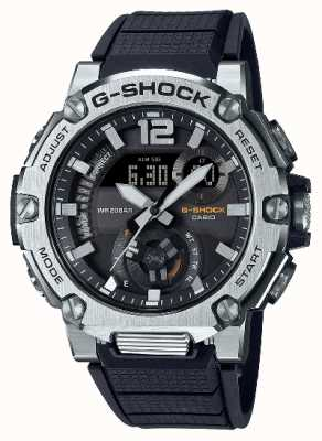 Casio | G-SHOCK | G-STEEL | Carbon Core Guard | Bluetooth | Solar | GST-B300S-1AER