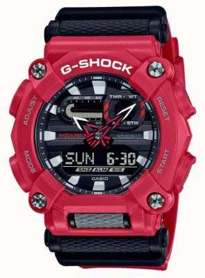 Casio G-SHOCK   Heavy Duty   World Time   Red Resin GA-900-4AER