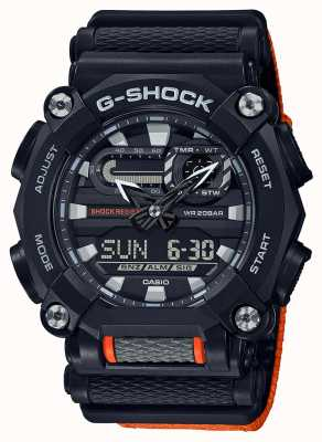 Casio G-SHOCK | LTD Edition | Heavy Duty | World Time | Orange GA-900C-1A4ER