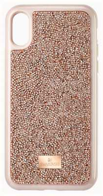 Swarovski Glam Rock | Phone Case | Pink/Rose Gold | IPhone X/XS 5498749