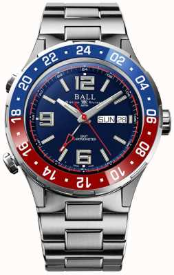 Ball Watch Company ROADMASTER MARINE GMT   LTD Edition   Auto   Blue Dial DG3030B-S4C-BE