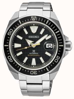 Seiko Prospex King Samurai | Stainless Steel Bracelet | Black Dial SRPE35K1