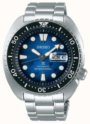 Seiko Men's Save The Ocean | Stainless Steel Bracelet | Blue Dial SRPE39K1