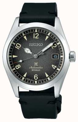 Seiko Prospex Alpinist | Mens | Calfskin | Black | Watch SPB159J1
