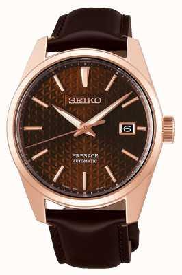 Seiko Presage | Rose | Automatic | Pvd | Brown | Leather SPB170J1
